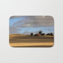 Rural Landscape and Farmhouse in Australia Bath Mat