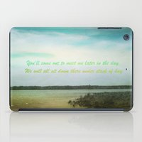 poem iPad Cases featuring Summer Poem by Armine Nersisian