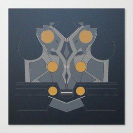 armor art Canvas Print