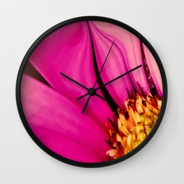 Abstract Of The Osteospermum Wall Clock