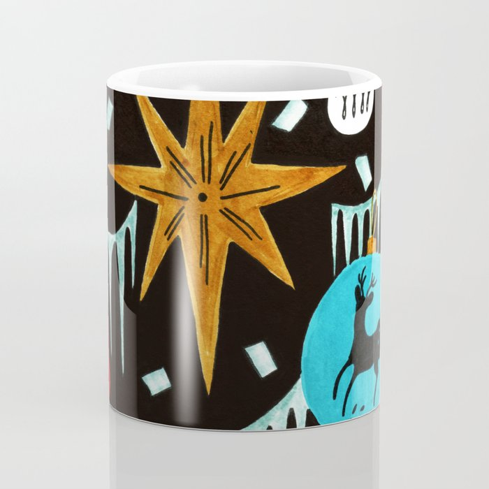 Mid Century Modern Christmas Tree Coffee Mug