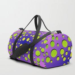 Polka dots in formation Duffle Bag