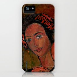 Simone iPhone Case