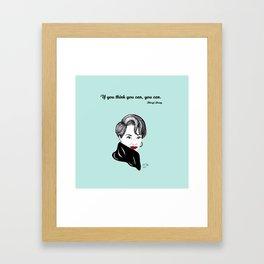 Meryl Streep Framed Art Print