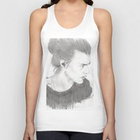 harry styles Tank Tops featuring harry styles by stylin_art
