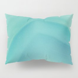 Geode Crystal Turquoise Pillow Sham
