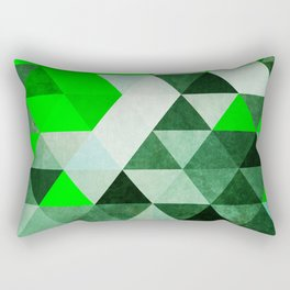 Green as dolla!  Rectangular Pillow