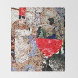 wine art 5 Throw Blanket