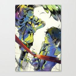 Haikyuu: Bokuto and Akaashi Canvas Print
