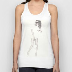 No.2 Fashion Illustration Series Unisex Tank Top