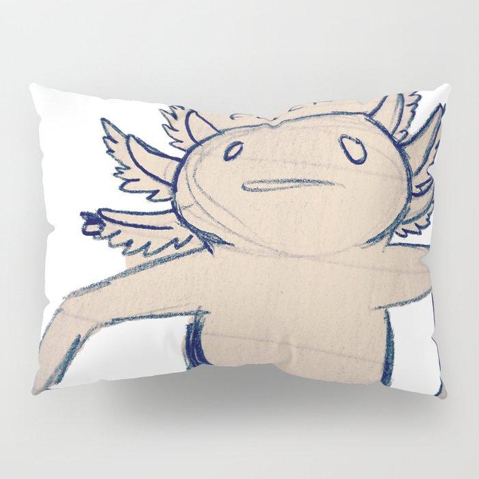 WTF Axolotl Pillow Sham