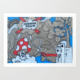 FF:Body Part III Art Print