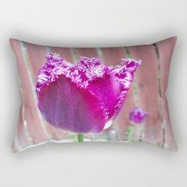 Fringed Rectangular Pillow