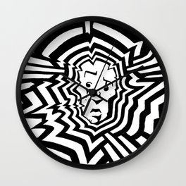 Radiation #1 Wall Clock