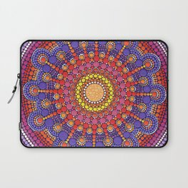 Jewel Drop Mandala Laptop Sleeve