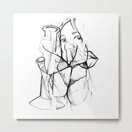 Inhale, Exhale (2020) Metal Print