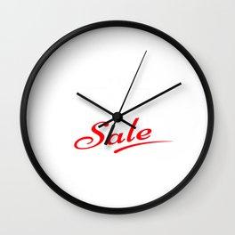 Black Friday Sale Wall Clock