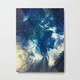 Book of Universe Metal Print