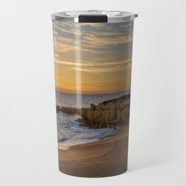 Algarve sunset, Portugal Travel Mug