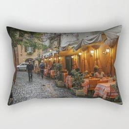 Italian Cafe Rectangular Pillow