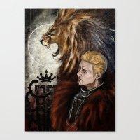 "dragon age inquisition Canvas Prints featuring Dragon Age Inquisition - Cullen - Fortitude by Barbara ""Yuhime"" Wyrowińska"