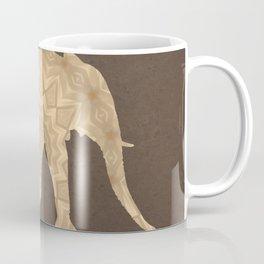Bohemian Elephant BoHo Hipster Gypsy Mandala A395 Coffee Mug