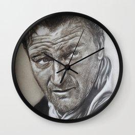 John Wayne Portrait Wall Clock