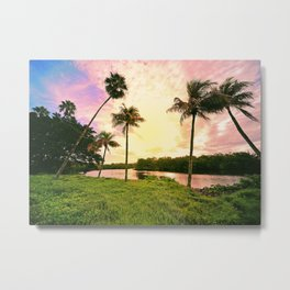 Sunrise over Gordon River Naples Metal Print