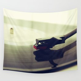 Record player Wall Tapestry