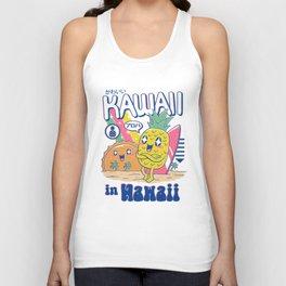 Kawaii in Hawaii Unisex Tank Top