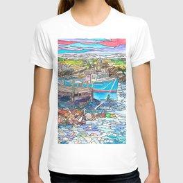 Nova Scotia Boats T-shirt