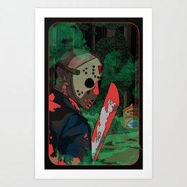 Not That Hockey Guy Art Print