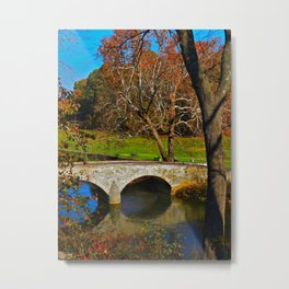 Burnside Bridge Antietam Battlefield Metal Print