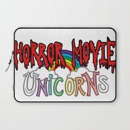 Horror Movie Unicorns: Logo Laptop Sleeve