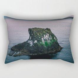 Arnarstapi Rock Rectangular Pillow