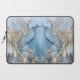 GOLD CLOUDS MARBLE Laptop Sleeve