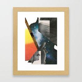 2001 - face odyssey Framed Art Print