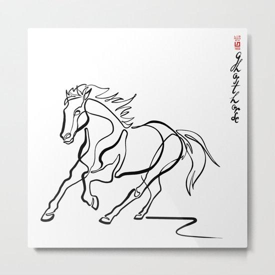 ~ghost.Horse~ Metal Print