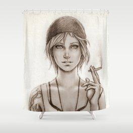 Chloe Price Shower Curtain