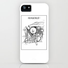 Knuckle iPhone Case