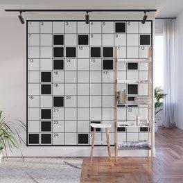 crossword Wall Mural