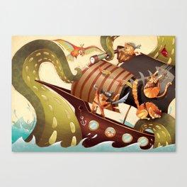 MEOWRRRRRRH!!! Canvas Print