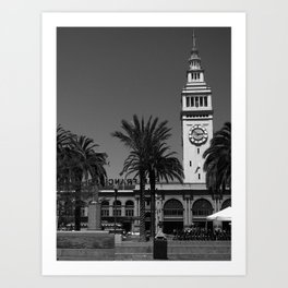 San Francisco Ferry Building Art Print