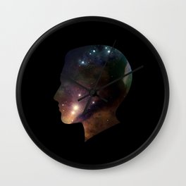 SPACEFACE2 Wall Clock