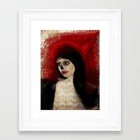 dia de los muertos Framed Art Prints featuring Dia de los muertos by solocosmo