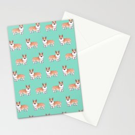 Pembroke Welsh Corgi dog Stationery Cards