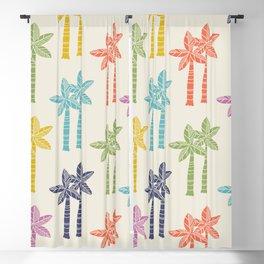 Palm Tree Pattern 22 Blackout Curtain