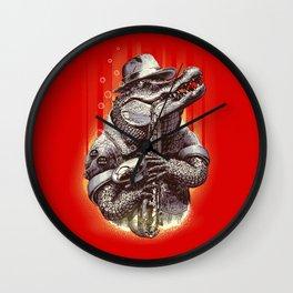 CROC ROCK Wall Clock