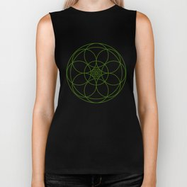 Celtic Circles Biker Tank