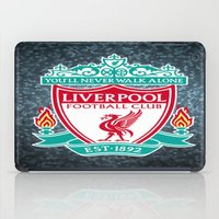 liverpool iPad Cases featuring LIVERPOOL by Acus